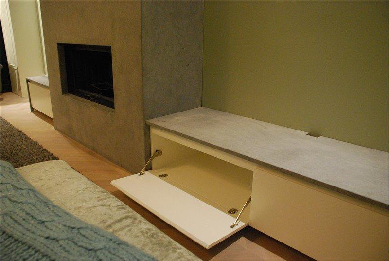 TV meubel natuursteen