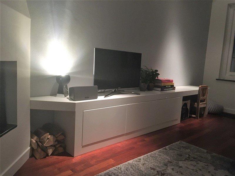 TV meubel met kinderhoekje