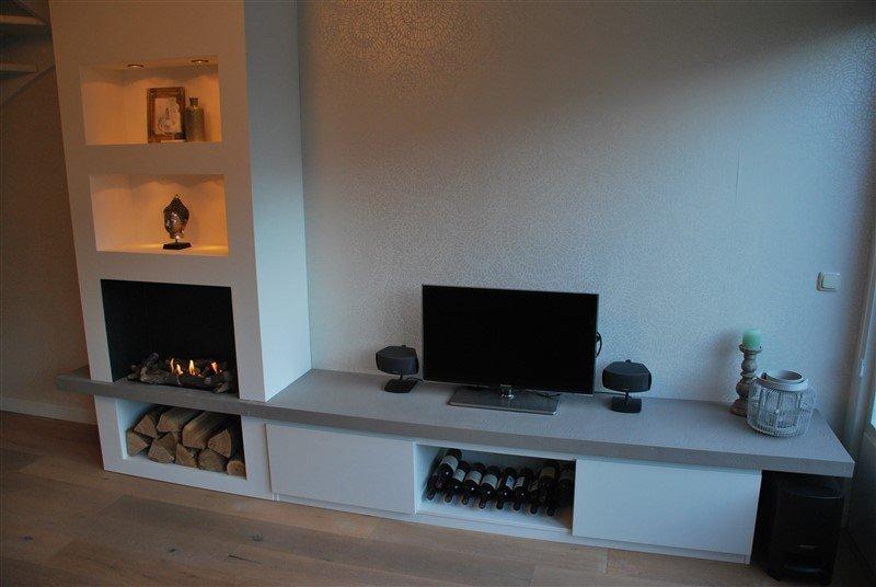 TV/ Haard meubel Ruby Fires