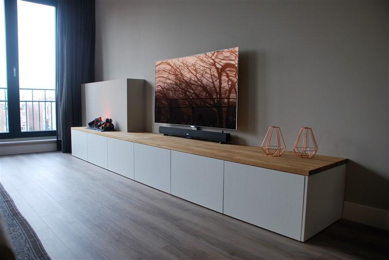 Ikea Tv Kasten : Tv meubel eiken opti myst u jasper badoux