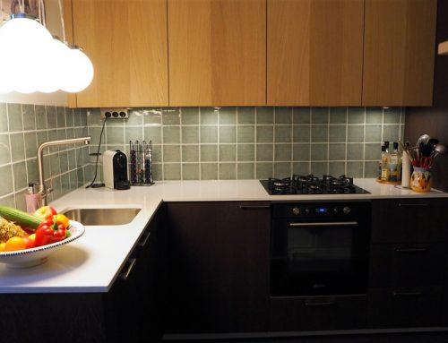 Elegante en warme keuken