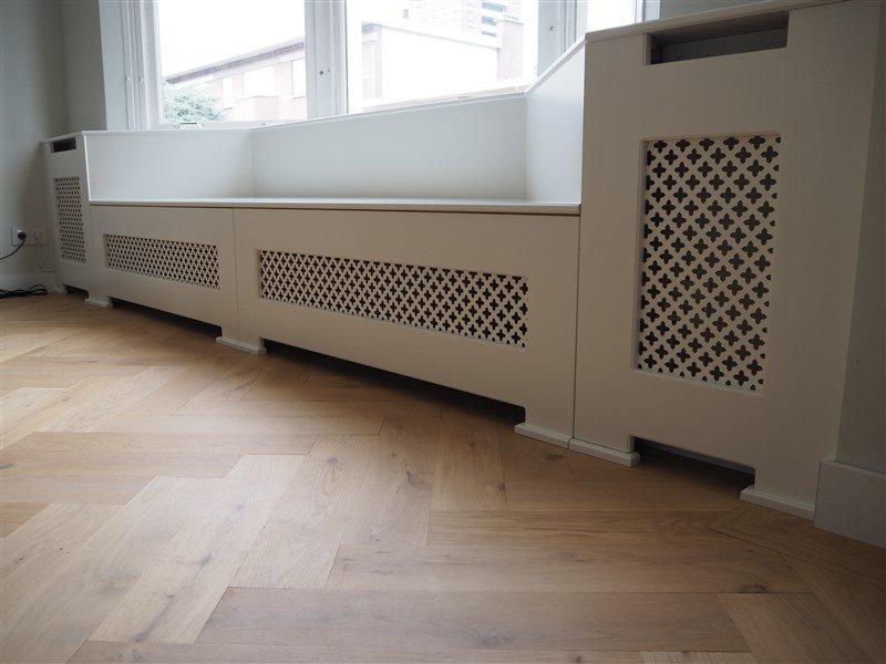 Radiatorbank radiatorbekleding