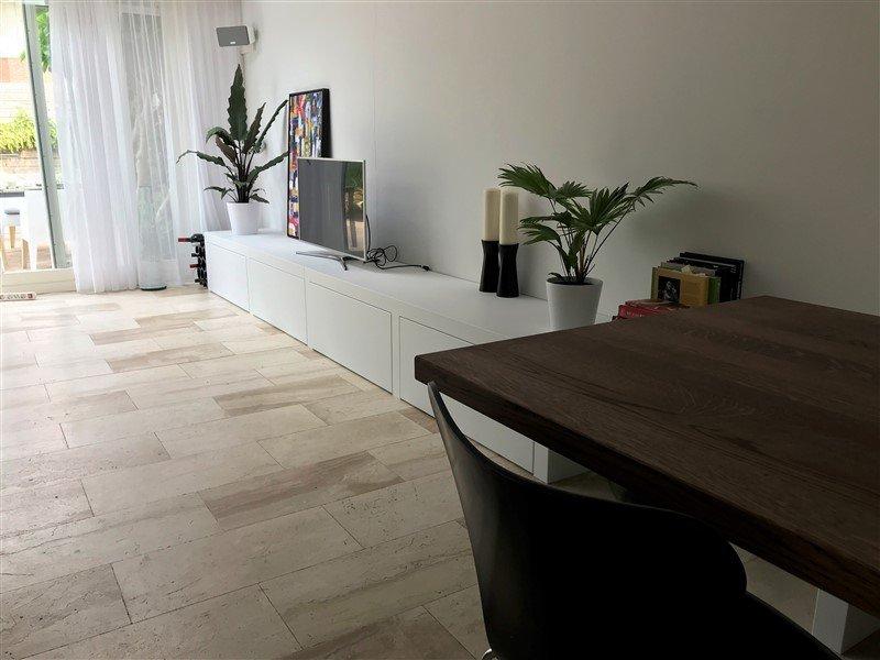 Tafel en bank/ TV meubel