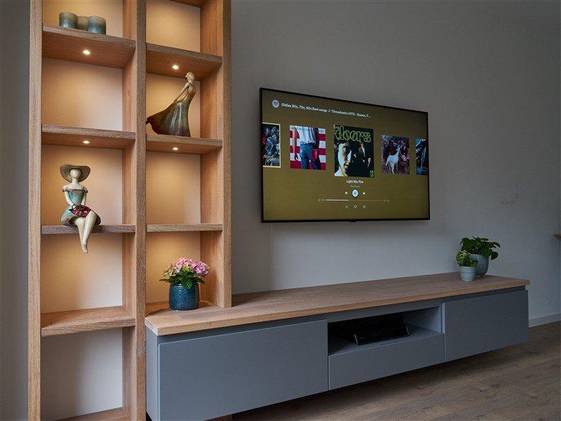 TV meubel vakkenkast